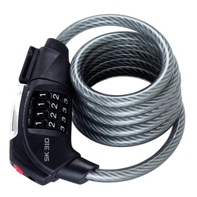 Trelock SK 310 Spiralkabelschloss schwarz